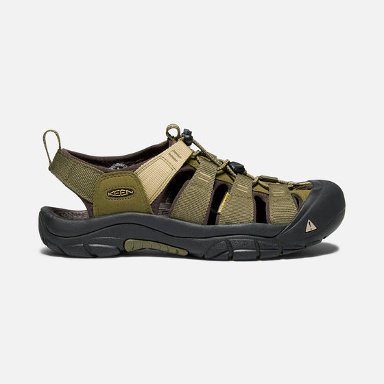 Keen Men's Newport Hydro Sandal - Olive/Antique Bronze 1018941