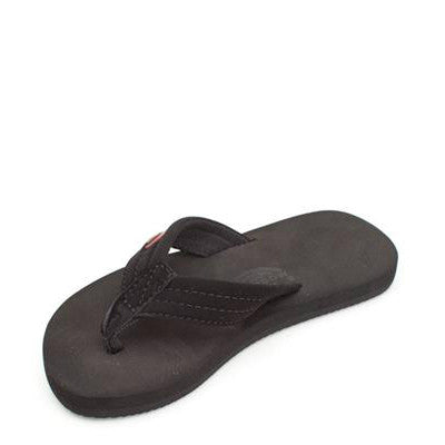 Rainbow Kid's Grombows Flip Flops - Black 101ST