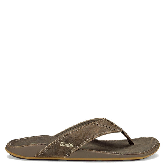 Olukai Men's Nui Sandal - Clay/Clay 10239-1010 - ShoeShackOnline