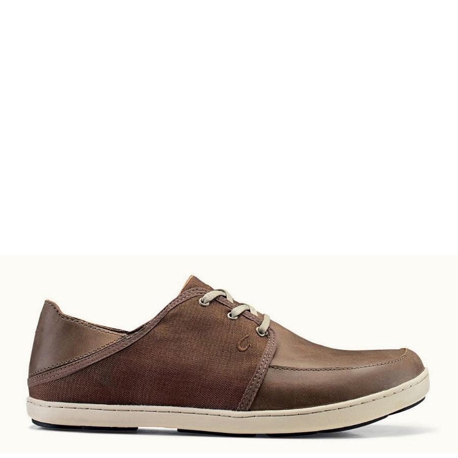 Olukai Men's Nohea Lace - Mustang 10254-1313 - ShoeShackOnline