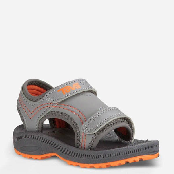 82196eaf178f5 Teva Toddler s Psyclone 4 Sandal - Grey Orange 110409T - ShoeShackOnline