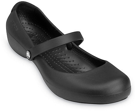 Crocs Women's Alice Work Shoes - Black 11050-001 - ShoeShackOnline
