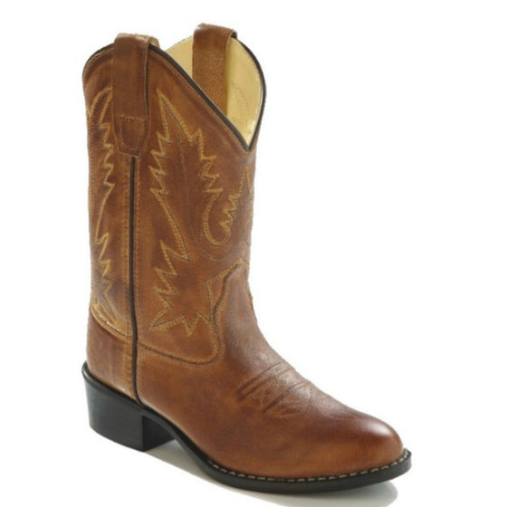Old West Kid's Western Boots - Corona 1129 - ShoeShackOnline