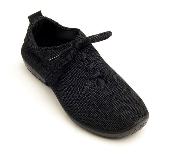 "Arcopedico Women's LS Knit ""Shocks"" Comfort Shoe 1151 Black"