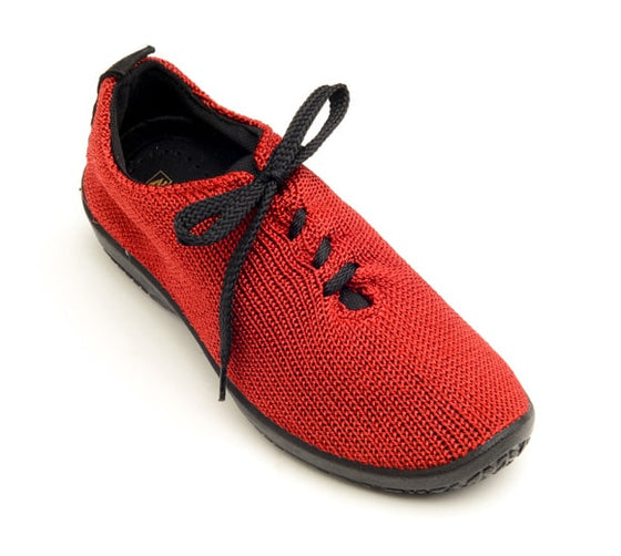 "Arcopedico Women's LS Knit ""Shocks"" Comfort Shoe 1151 Red"