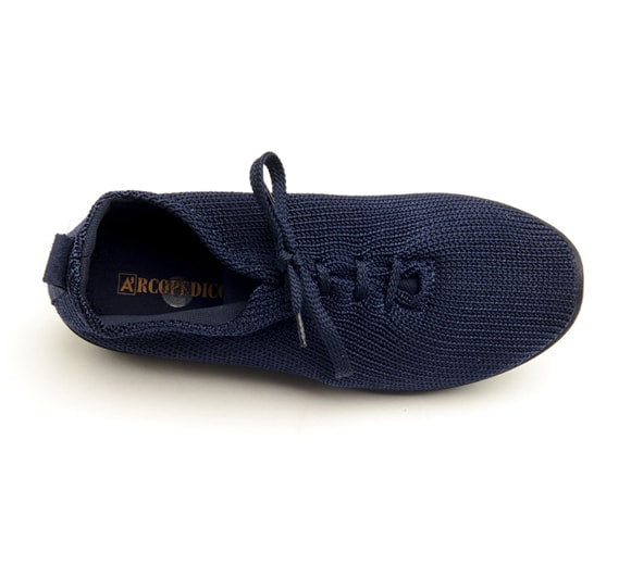 "Arcopedico Women's LS Knit ""Shocks"" Comfort Shoe 1151 Navy"