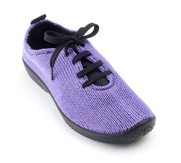 "Arcopedico Women's LS Knit ""Shocks"" Comfort Shoe 1151 Violet"