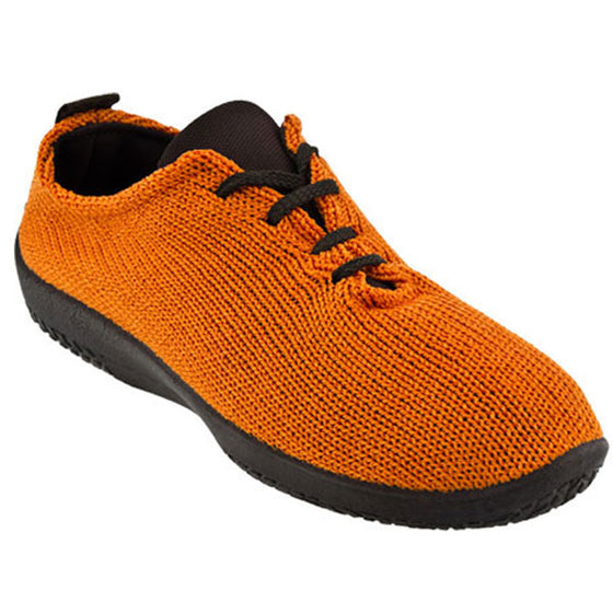 "Arcopedico Women's LS Knit ""Shocks"" Comfort Shoe 1151 Orange"