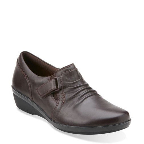 Clarks Women's Everlay Coda - Dark Brown 11994 - ShoeShackOnline