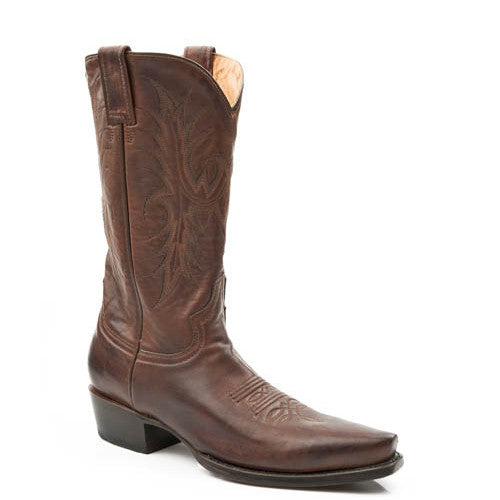 Stetson Women's Hand Burnished Ficcini Fashion Boot - Cafe 12-021-6105-0739