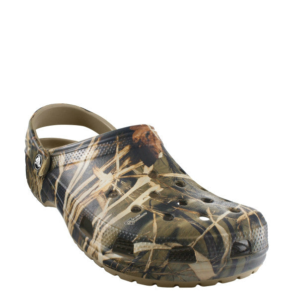 Crocs Classic Realtree V2 - Khaki/Realtree Max-4 HD 12132-260 - ShoeShackOnline