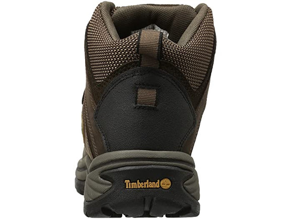 Timberland Men's White Ledge Mid Waterproof Hiking Boot - Brown 12135 - ShoeShackOnline