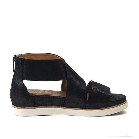 Bussola Women's Leather Pauline Low Platform Sandal - ShoeShackOnline