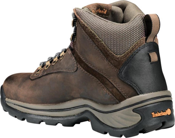 Timberland Women's White Ledge Mid Waterproof Hiking Boot - Dark Brown 12668 - ShoeShackOnline
