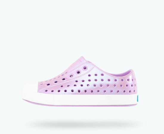 Native Child's Jefferson Sneaker - Iridescent Lavender Purple/White 13100104-8592 - ShoeShackOnline