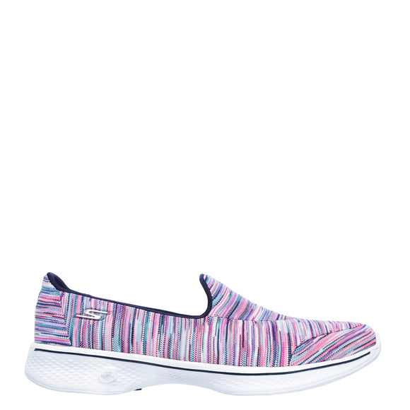 Skechers Women's Go Walk 4 Slip On - Multi 14904