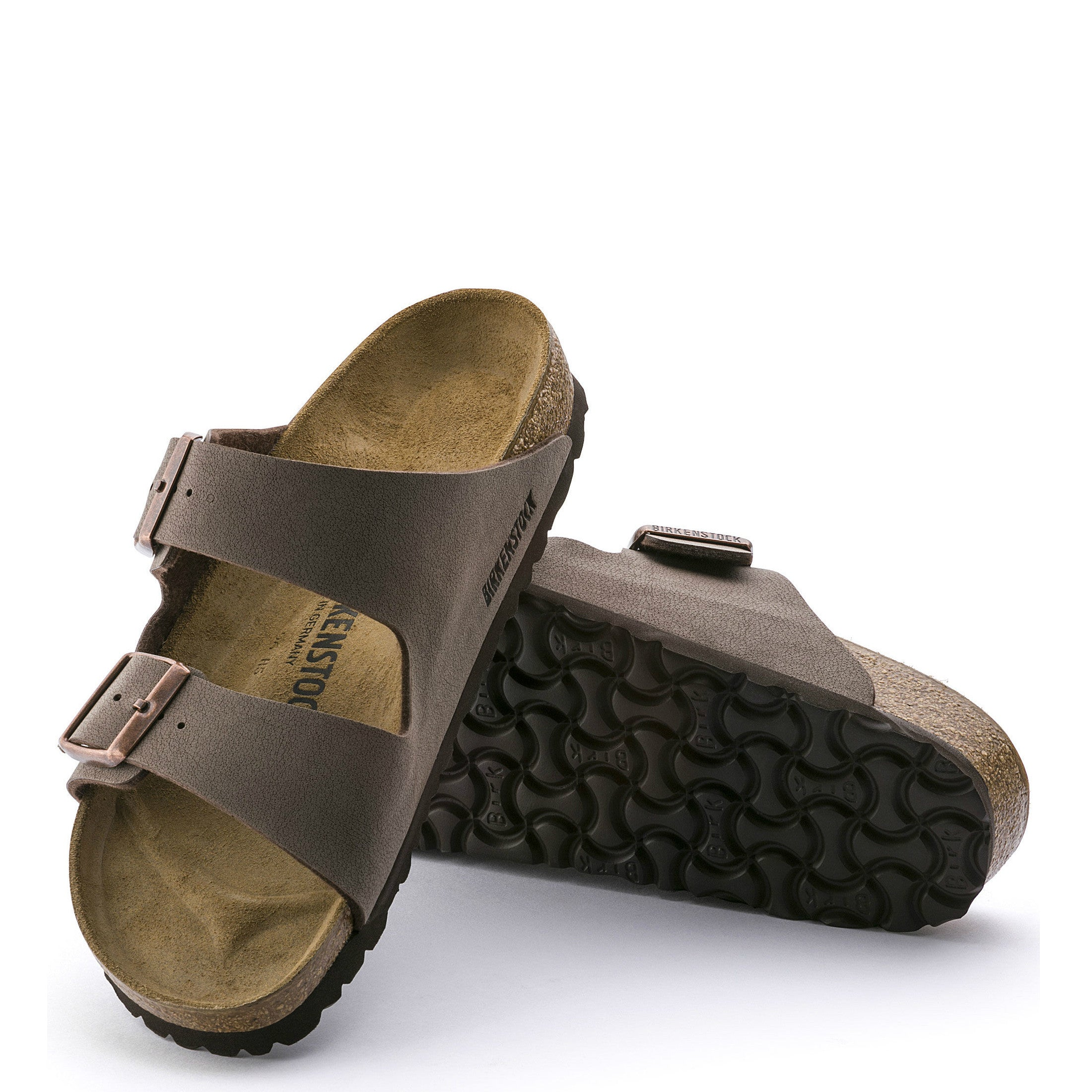 d8cbfe139 Birkenstock Arizona Sandal (Narrow) - Mocca 151183 - ShoeShackOnline