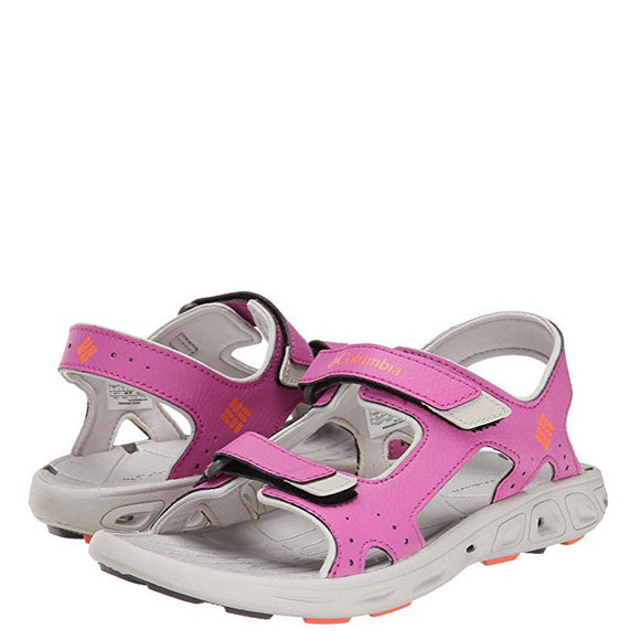 Columbia Children's Techsun Vent - Coral Flame 1594631665 - ShoeShackOnline