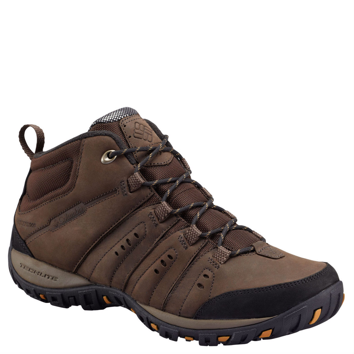 Columbia Men's PeakFreak Nomad Plus Chukka WP Omni-Heat Boot - Cordovan/Canyon Gold 1650181 - ShoeShackOnline