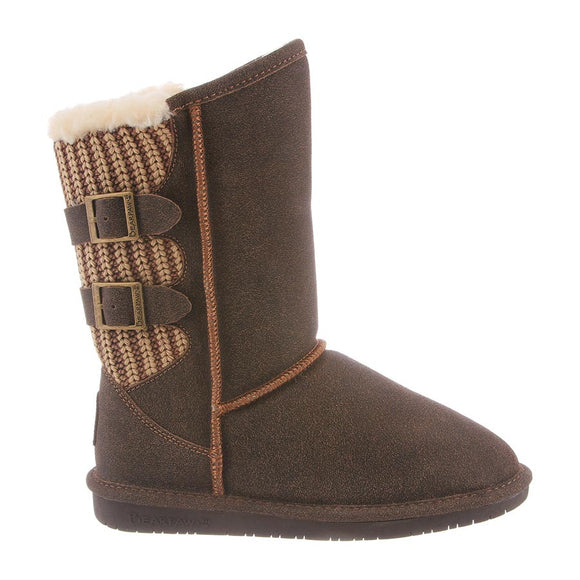 Bearpaw Women's Boshie - Distressed Chestnut 1669W - ShoeShackOnline