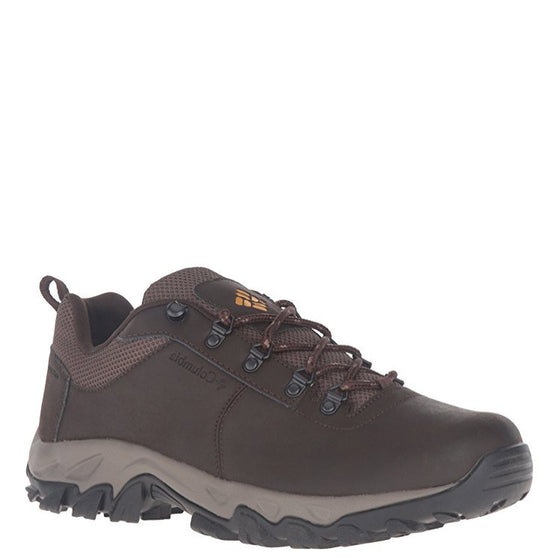 Columbia Men's Newton Ridge Plus Low WP Hiking Shoe - Cordovan/Squash 1690771-231 - ShoeShackOnline