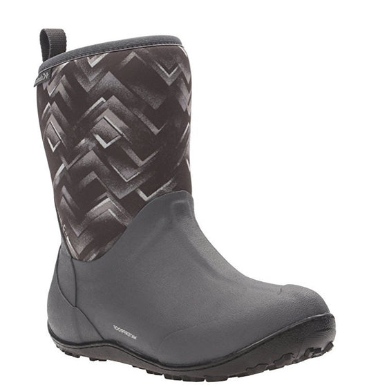 Columbia Women's Snowpow Mid Print Omni-Heat Boot - Dark Grey/Cool Grey 1701401-089 - ShoeShackOnline