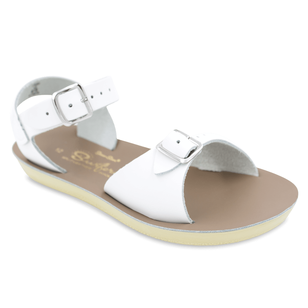 Sun San Little Kid's Surfer Sandal - White 1703