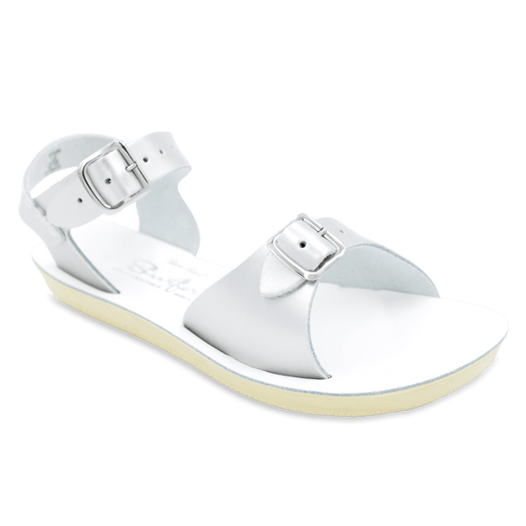 Sun San Little Kid's Surfer Sandal - Silver 1712