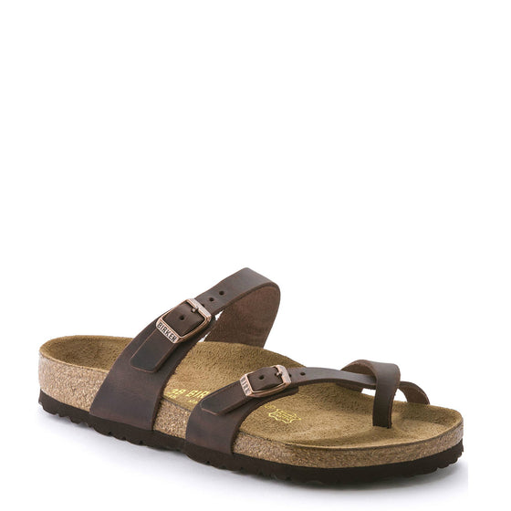 Birkenstock Women's Mayari - Habana | Oiled Leather 171321 - ShoeShackOnline