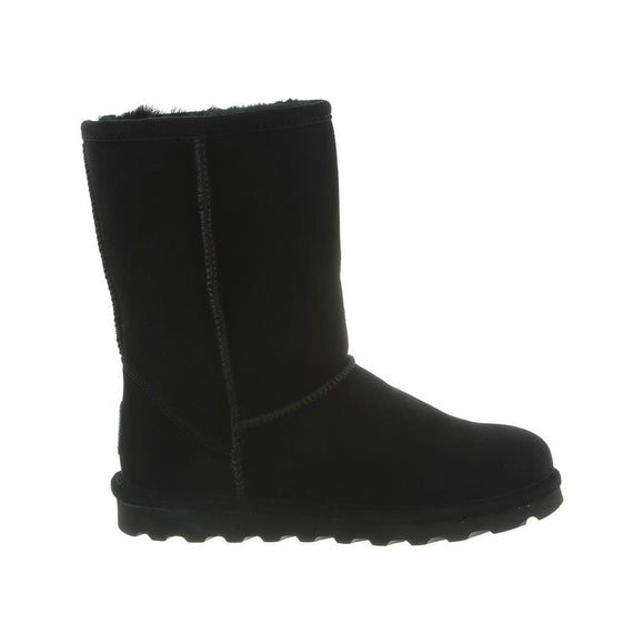Bearpaw Women's Elle Short Boot 1962W - Black - ShoeShackOnline