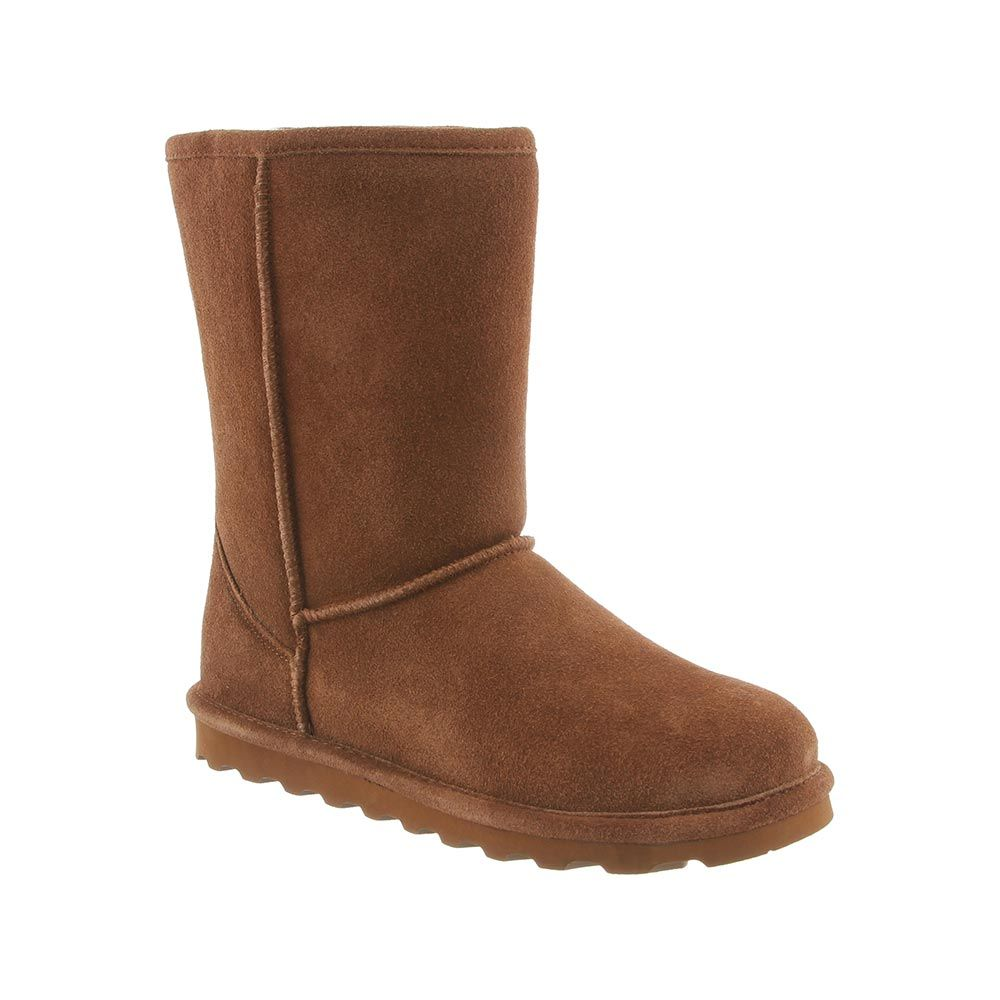 Bearpaw Women's Elle Short Boot 1962W - Hickory - ShoeShackOnline