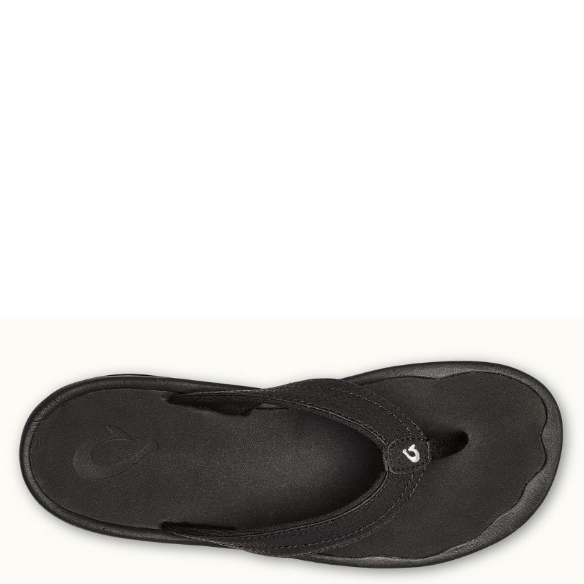 7e4fb1302757 Olukai Women s  Ohana Sandal - Black 20110-4040 - ShoeShackOnline