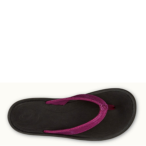Olukai Women's Kulapa Kai Sandal - Pokeberry/Black 20198-PB40 - ShoeShackOnline
