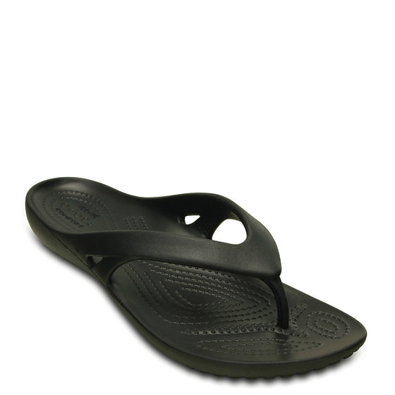 Crocs Women's Kadee II Flip Flop - Black 202492-001 - ShoeShackOnline