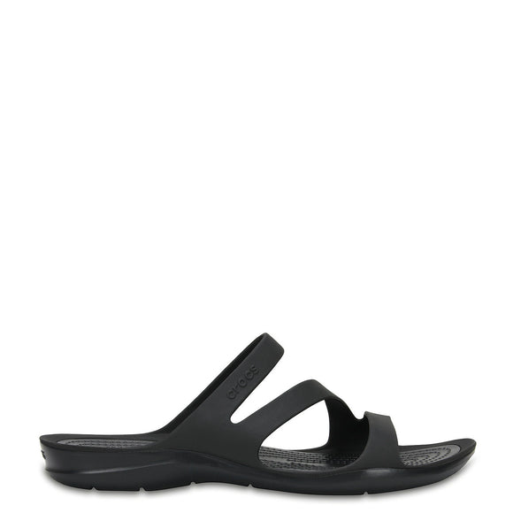 Crocs Women's Swiftwater Sandal - Black 203998-060 - ShoeShackOnline