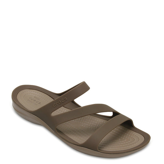 Crocs Women's Swiftwater Sandal - Walnut 203998