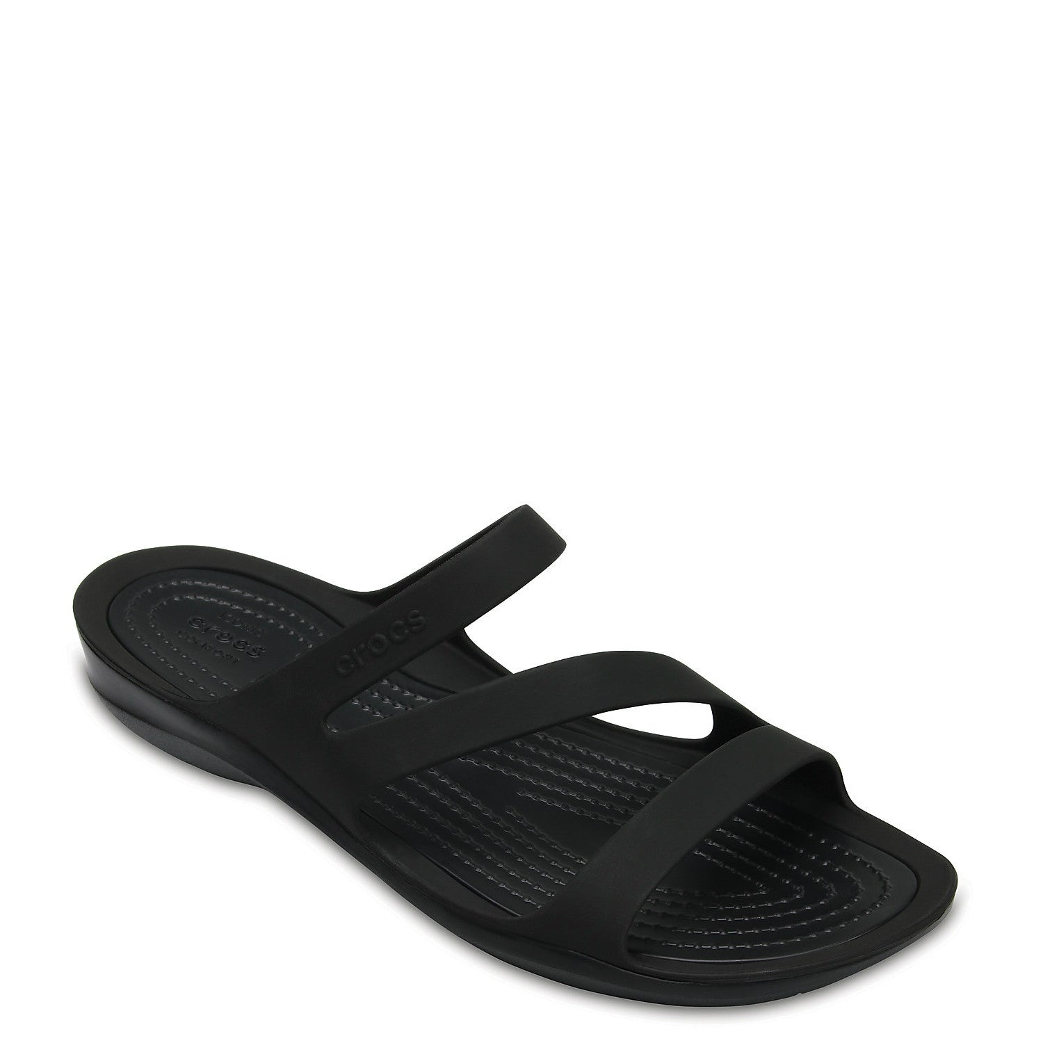 e16b2f04a2e58e Crocs Women s Swiftwater Sandal - Black 203998 - ShoeShackOnline