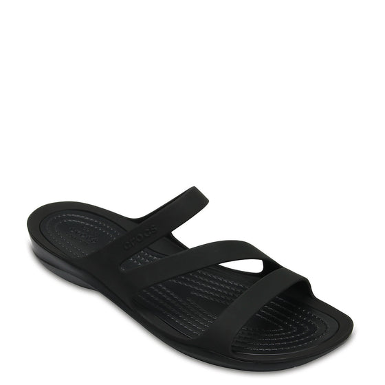 Crocs Women's Swiftwater Sandal - Black 203998