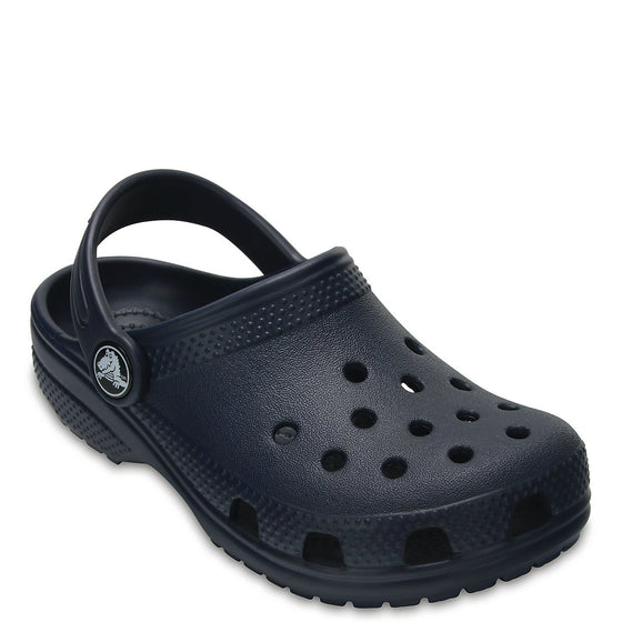 Crocs Kid's Classic Clog - Navy 204536-410 - ShoeShackOnline