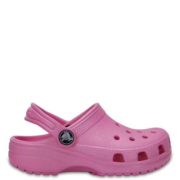 Crocs Kid's Classic Clog - Carnation 204536-6I2 - ShoeShackOnline