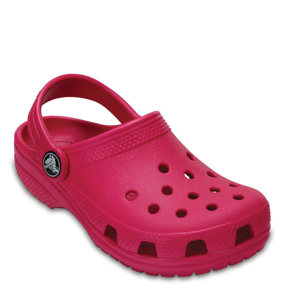 Crocs Kid's Classic Clog - Candy Pink 204536-6X0 - ShoeShackOnline