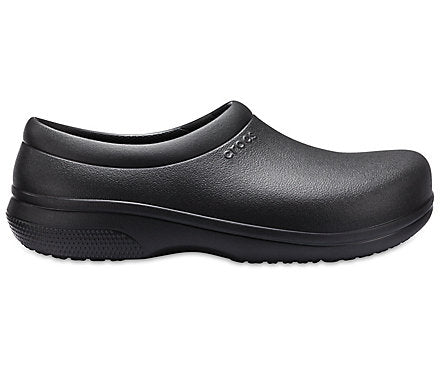 Crocs On-The-Clock Slip On Work Clog - Black 205073-001