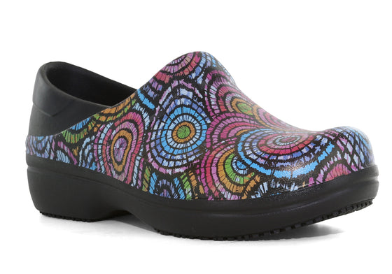 Crocs Women's Neria Pro II Graphic Clog - Black/Multi 205385-0C4 - ShoeShackOnline