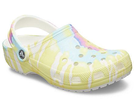 Crocs Classic Graphic Clog - White/Multi 205453-94S