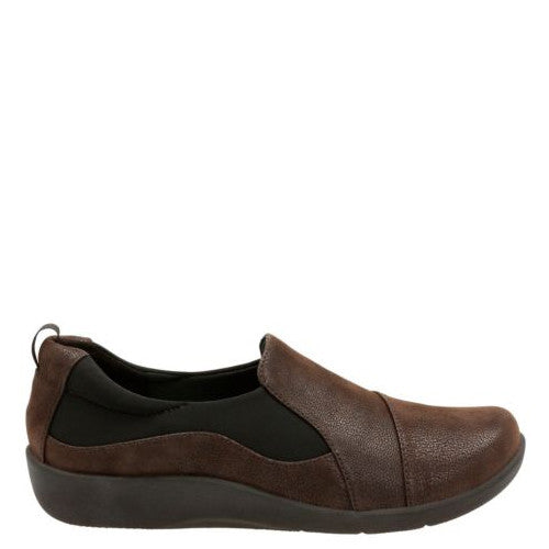 Clarks Women's Sillian Paz - Dark Brown 20932 - ShoeShackOnline