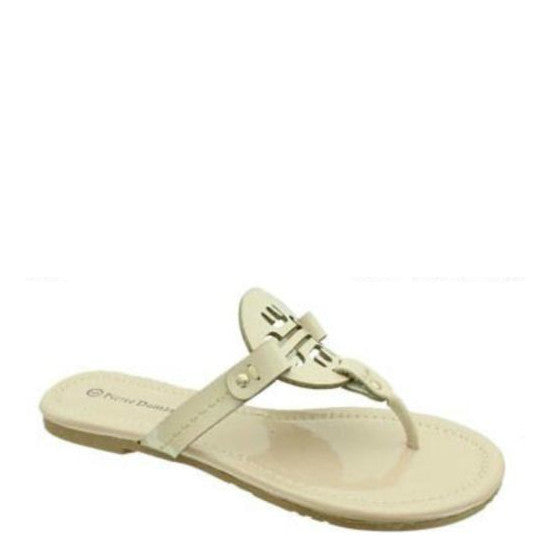 Pierre Dumas Women's Lily-13 Thong Sandal - Nude 21082-312