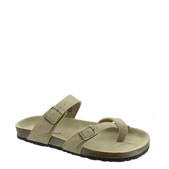Outwoods Women's Bork-30 Sandal - Taupe 21321-734