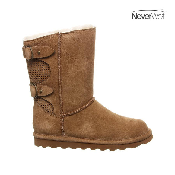 Bearpaw NeverWet Clara Women's Boot 2136W - Hickory II - ShoeShackOnline