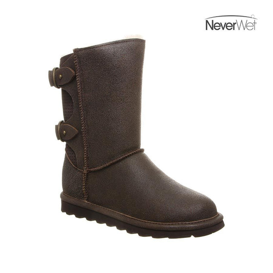 Bearpaw NeverWet Clara Women's Boot 2136W - Chesnut Distressed - ShoeShackOnline