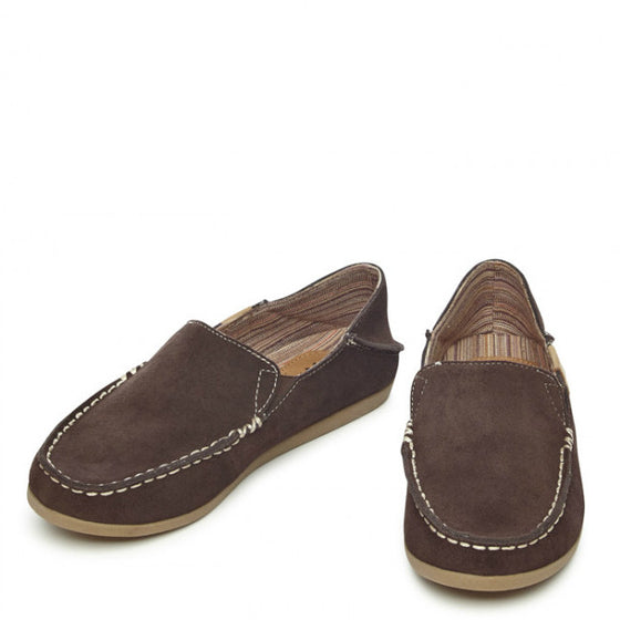 Yellow Box Women's Bigsur Flat - Brown 22201 - ShoeShackOnline